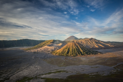 Awesome volcanoes of Mt Ijen and Mt Bromo on our way from Bali to Yogyakarta