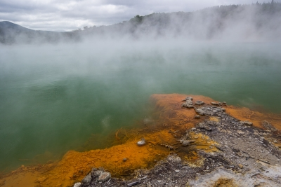 Hot pools and more geothermal activity near Rotorua